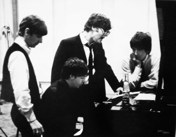 「beatles  recording emi 1964 studio」の画像検索結果