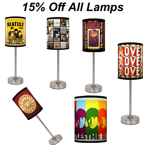 15% Off Beatles Gear