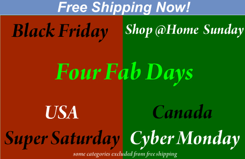 Free shipping @ Fab Four Store